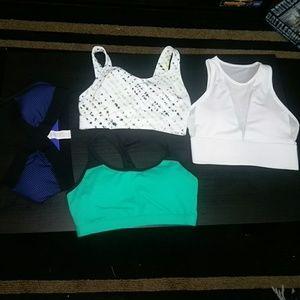 4 Fabletics sports bras